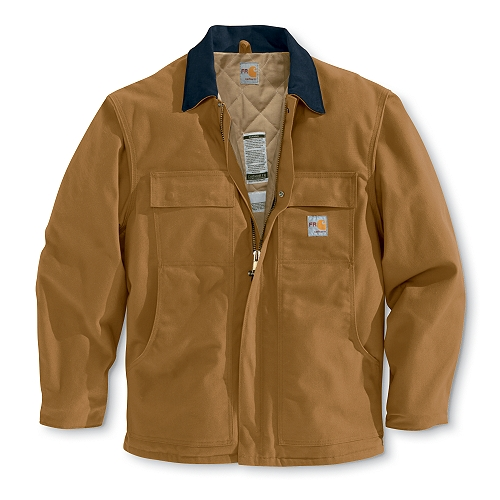 Carhartt Style #: FRC066 Men�s Flame-Resistant Duck Traditional Coat/Quilt-Lined FRC066